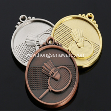 3D medal for badminton winner